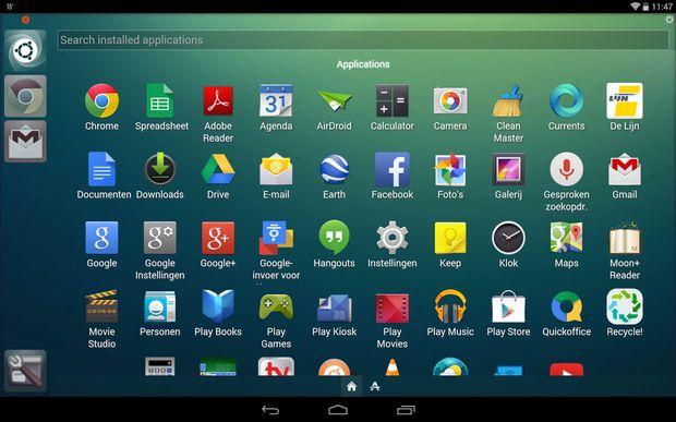 Ubuntu Launcher Android
